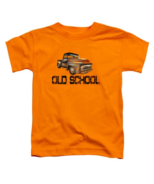 Old Truck Right Attitude Toddler T-Shirt