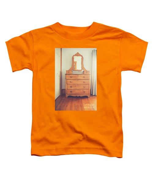 Old Wooden Dresser Toddler T-Shirt