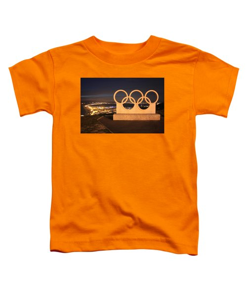 Olympic Rings Portland  Toddler T-Shirt