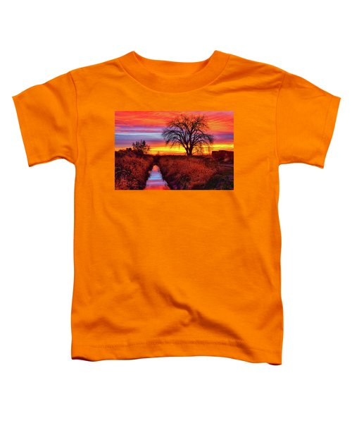 Toddler T-Shirt featuring the photograph On The Horizon by Greg Norrell