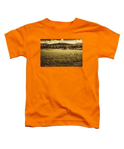 Open Fields Of Woodstock Tasmania Toddler T-Shirt