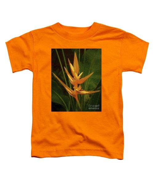 Orange Art Toddler T-Shirt