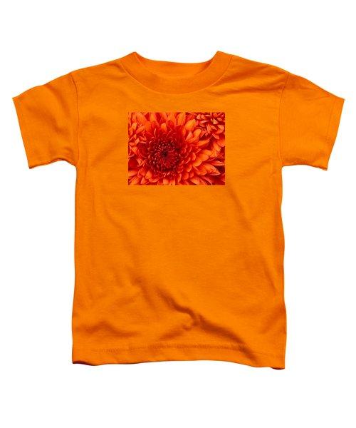 Orange Bloom Toddler T-Shirt
