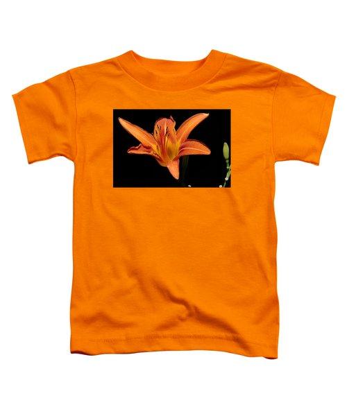 Orange Day-lily Toddler T-Shirt