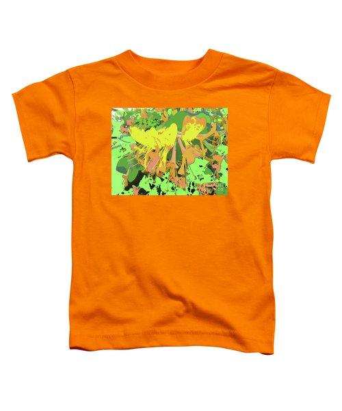 Orange Flowers By M.l.d. Moerings 2015 Toddler T-Shirt