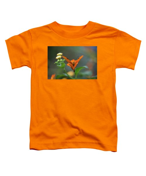 Orange Is The New Butterfly Toddler T-Shirt