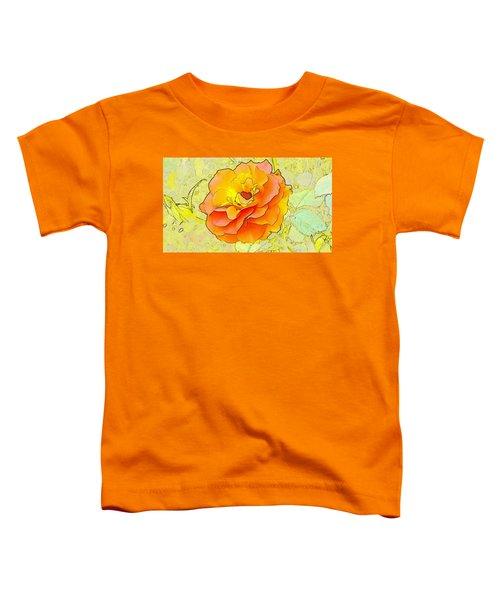 Orange Rose Toddler T-Shirt