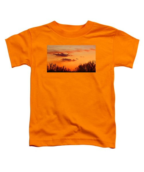 Orange Sky At Night Toddler T-Shirt