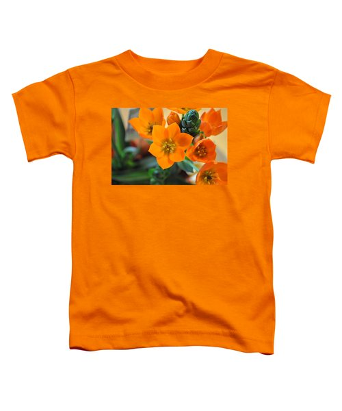 Orange Star Toddler T-Shirt