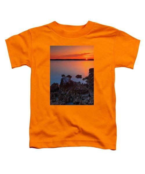 Orange Sunrise Toddler T-Shirt