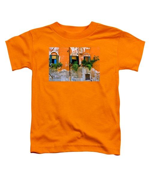 Orange Wall Toddler T-Shirt
