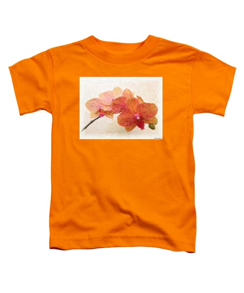 Orchid Beauty Toddler T-Shirt