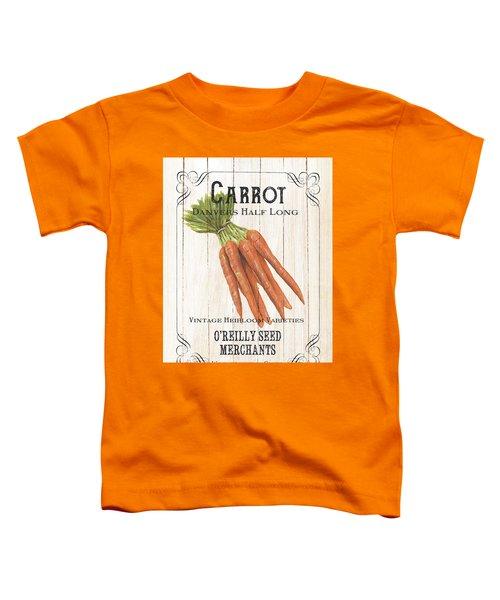 Organic Seed Packet 2 Toddler T-Shirt