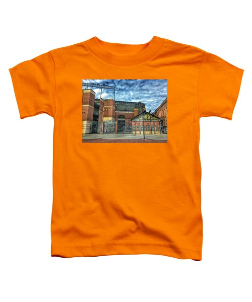 Oriole Park At Camden Yards Gate Toddler T-Shirt