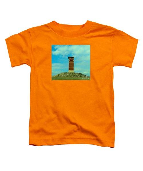 Oklahoma State University Gateway To Osu Tulsa Campus Toddler T-Shirt by Janette Boyd