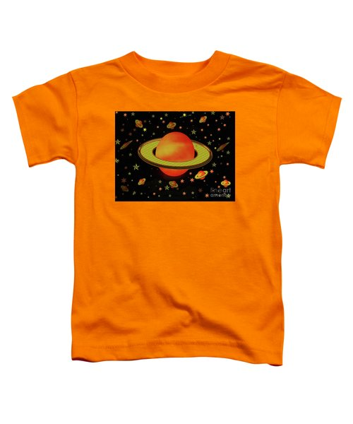Outer Harvest Moons Toddler T-Shirt