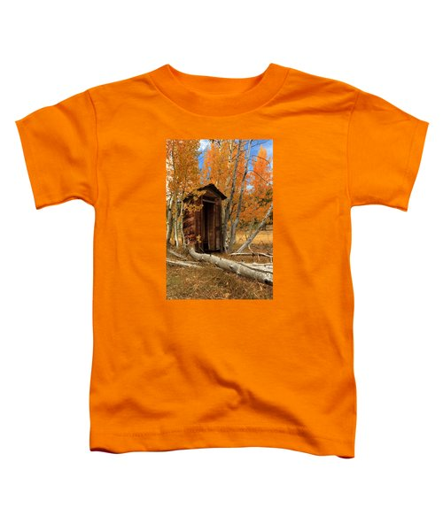Outhouse In The Aspens Toddler T-Shirt