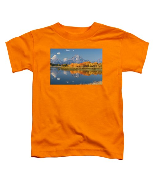 Oxbow Bend Reflection Toddler T-Shirt
