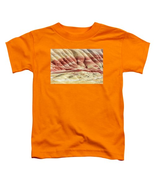 Painted Hills Landscape Toddler T-Shirt