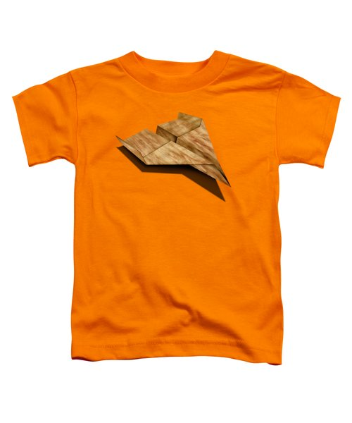 Paper Airplanes Of Wood 5 Toddler T-Shirt by YoPedro