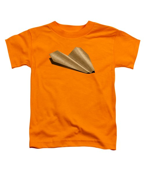 Paper Airplanes Of Wood 6 Toddler T-Shirt by YoPedro