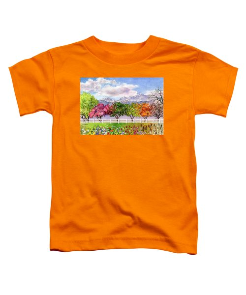 Parade Of The Seasons Toddler T-Shirt