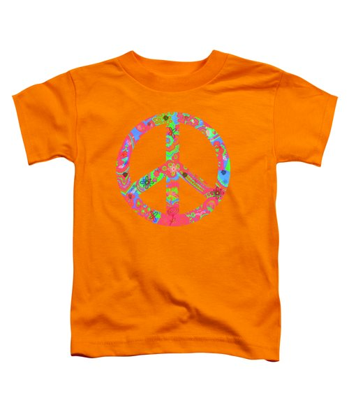 Toddler T-Shirt featuring the digital art Peace by Linda Lees