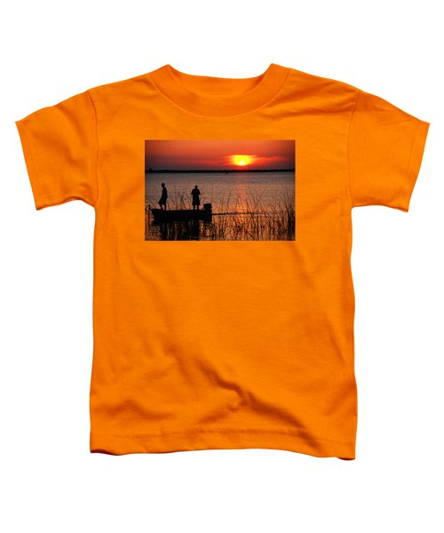 Peace Over The Water Toddler T-Shirt