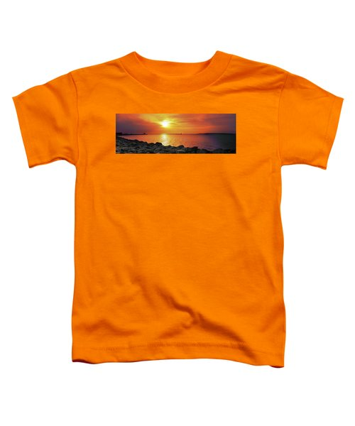 Petoskey Sunset Toddler T-Shirt