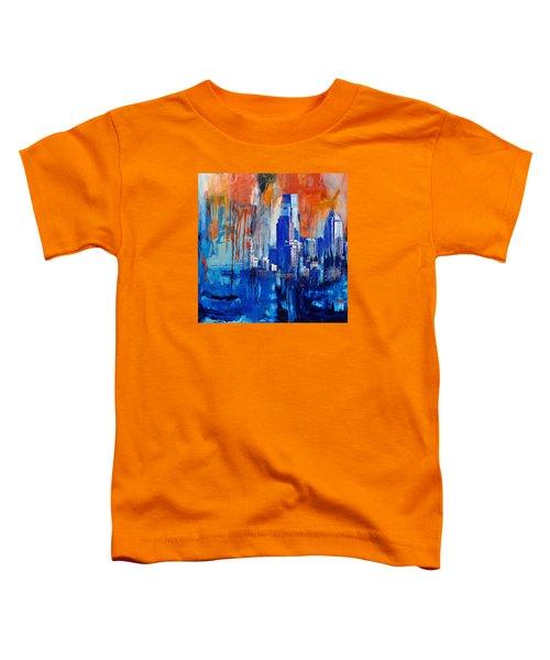 Philadelphia Skyline 227 1 Toddler T-Shirt by Mawra Tahreem