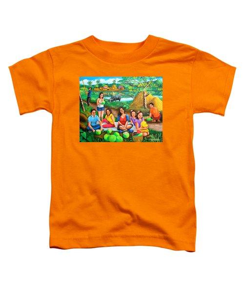 Picnic At The Farm Toddler T-Shirt