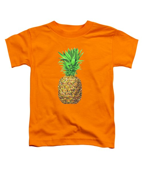 Pineapple, Tropical Fruit Toddler T-Shirt