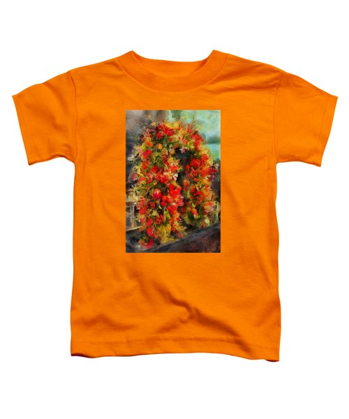 Pi's Flowers 2 Toddler T-Shirt