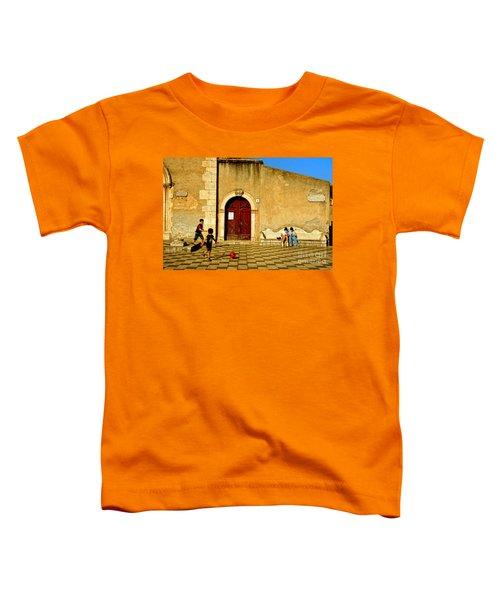 Playing In Taormina Toddler T-Shirt