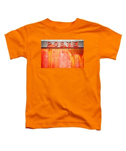 Poste Italian Weathered Mailbox Toddler T-Shirt