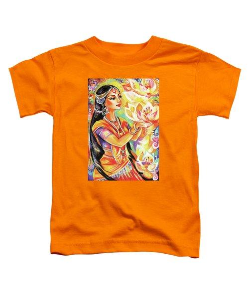 Pray Of The Lotus River Toddler T-Shirt