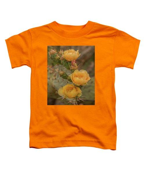Prickly Pear Blossom Trio Toddler T-Shirt