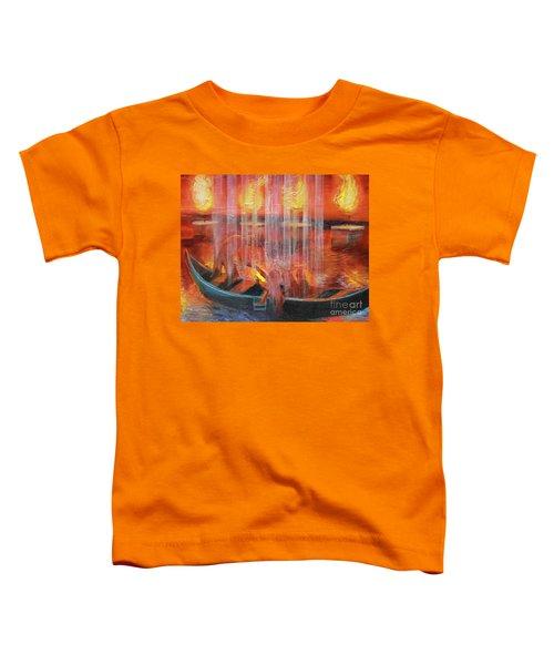 Prophetic Message Sketch 45 Detail Of Boat Toddler T-Shirt