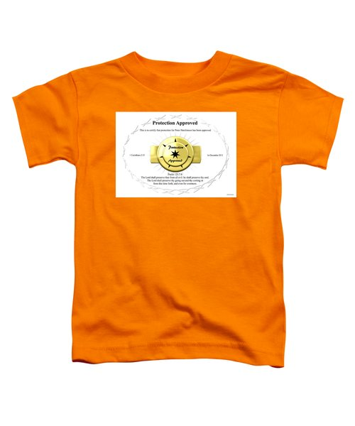 Protection Approved Toddler T-Shirt