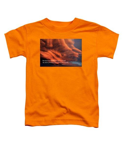 Psalm 19-1 Toddler T-Shirt