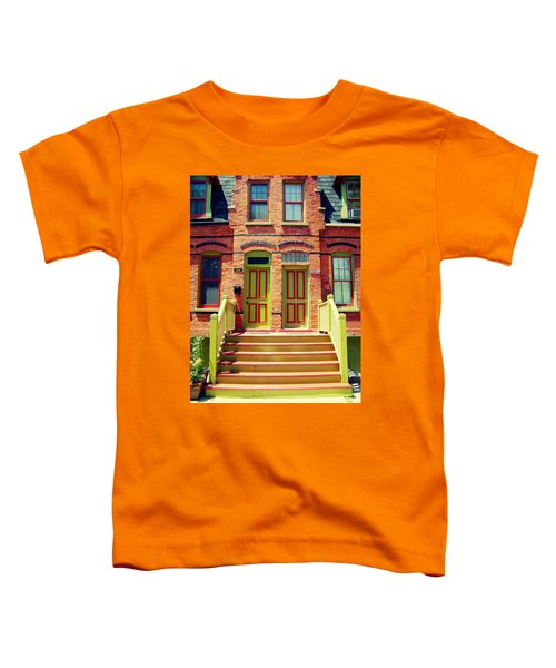 Pullman National Monument Row House Toddler T-Shirt