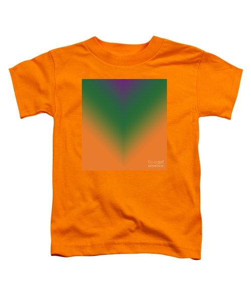 Purple, Green And Orange Toddler T-Shirt