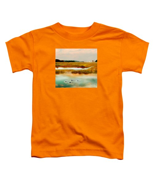 Racing The Tide Toddler T-Shirt