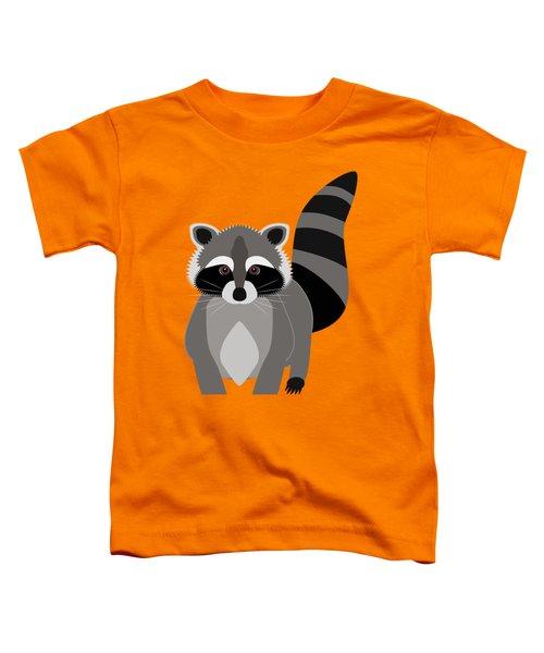 Raccoon Mischief Toddler T-Shirt