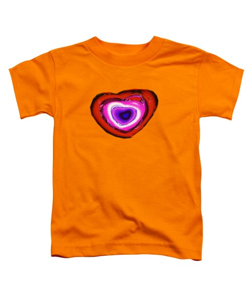 Rainbow Heart Toddler T-Shirt