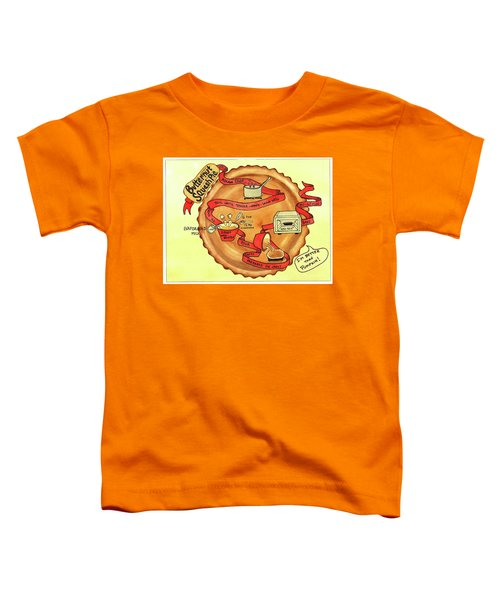Recipe-butternut Squash Pie Toddler T-Shirt