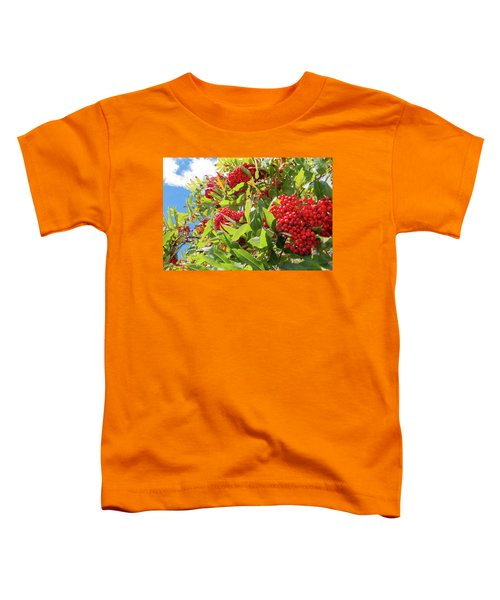 Red Berries, Blue Skies Toddler T-Shirt