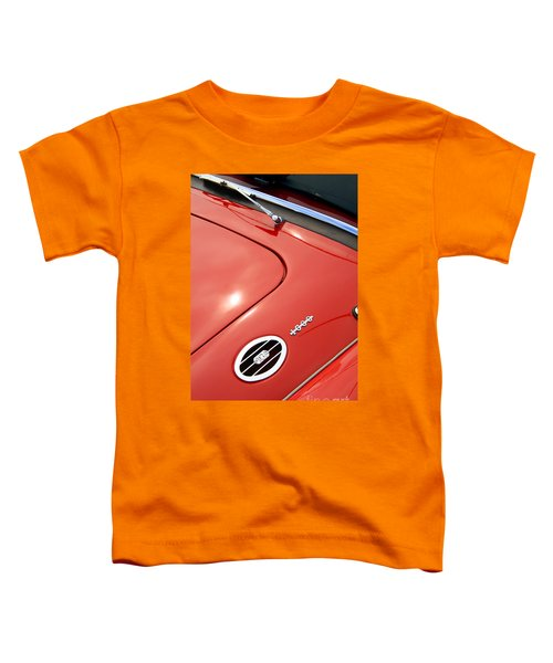 Toddler T-Shirt featuring the photograph Red Bonnett by Stephen Mitchell