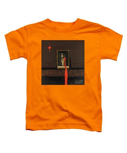 Red Echo Toddler T-Shirt