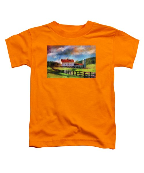 Red Roof Barn Toddler T-Shirt
